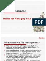 File Management Ppt