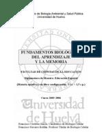 Fundamentos Biologicos Del Aprendizaje y La Memoria - Prog-FBAM-05-06