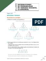 U10 Distribuciones Variable Discreta