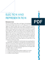 Chap 3 Election and Representation