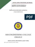 Dsplab Manual