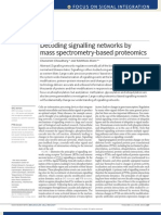 Decoding Signalling Networks by Mass Spectrometry-based Proteomics