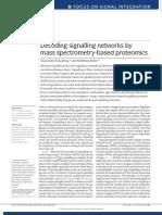 Decoding Signalling Networks by Mass Spectrometry-based Proteomics