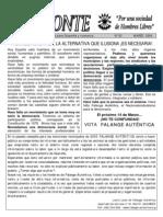 Horizonte nº 20 (Marzo 2004 - Falange Auténtica)
