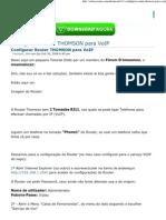 Configurar Router THOMSON Para VoIP