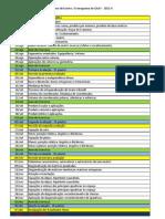 Cronograma - GAAV (2011-2)