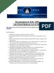 Deregulation Summary