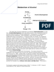 Metabolism of Alcohol-F01