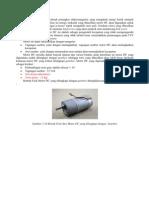 Motor DC Merupakan Sebuah Perangkat Elektromagnetis Yang Mengubah Energi Listrik Menjadi Energy Mekanik