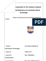 Questionnarie2003(Institutional Investor)