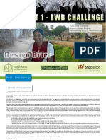 2011 EWB Challenge Design Brief