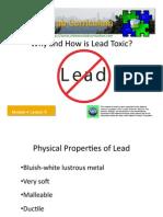 M4 L6 Lead Toxicity