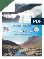 Politica Nacional Recursos Hidricos Chile