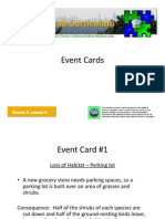 M6 L6 Event Cards