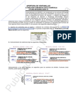 Apertura a AxC OI-09-10