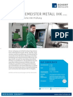 Industriemeister Metall IHK