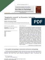 Savransky Imaginative Research