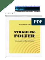 Strahlenterror - Deutsche Betroffene 1 - Strahlenfolter v1.0