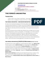 05 Femous Orchestra Kosmos //  04.2011