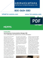 Nortel Bcm450 Brochure