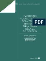 Evolucion de Pobreza SEDESOL 2002
