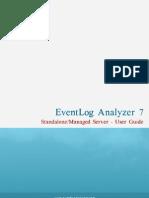 Event Log Analyzer UserGuide