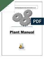 Plant Manual