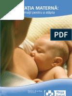 Guia Lactancia en Rumano