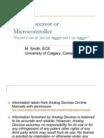 Microprocessor Micro Controller