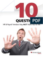 10 Questions HR & Payroll Vendors May Not Want You to Ask
