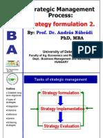 ,Types of Strategies
