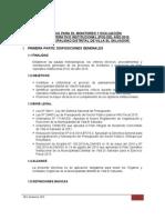 Directiva Monitoreo y Evaluacion POI 2010 (F)