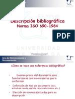Tutorial sobre Descripción Bibliográfica.