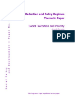 Social Protection and Poverty by Armando Barrientos
