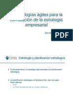 Estrategia empresarial - Metodologias agiles