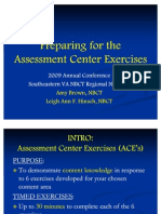 Assessment Center Exercises 2009