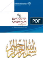 Good Research Strategy Personal Perspective