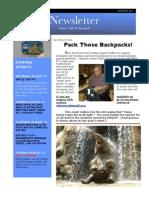 Rotary Newsletter Aug 9 2011