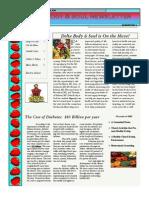 August 2011 Newsletter Leter