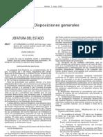 Ley organica 2 2002 regulacion