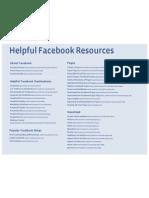 Facebook Resources