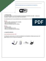 Configuracion de Una Red WiFi