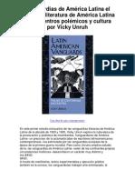 s de América Latina el arte de la literatura de América Latina de encuentros polémicos y cultura por Vicky Unruh - Averigüe por qué me encanta!