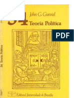 Gunnel, J. G. Teoria Política