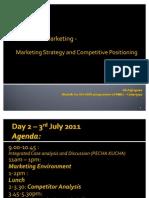marketing environment and analyses