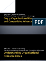 Organisational resources