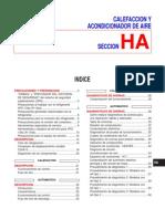 CALEFACCION Y ACONDICIONADOR DE AIRE nissan primera p11
