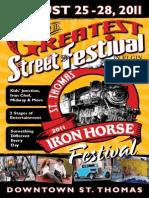 2011 Iron Horse Festival Boarding Pass