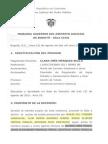 Apuntada - Sentencia TSDJ BOG Denegando Tutela Maria Del Carmen y Otros