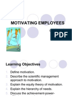Chapter 14- Motivate Employees